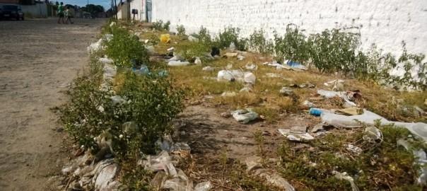 Moradores de Delmiro reclamam da coleta e acúmulo de lixo