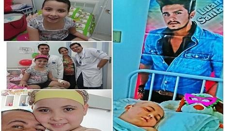 Delmirense que sofria de câncer e queria conhecer Luan Santana morre; Cantor faz vídeo em homenagem
