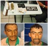 Dois homens são presos com drogas durante abordagem policial em Mata Grande