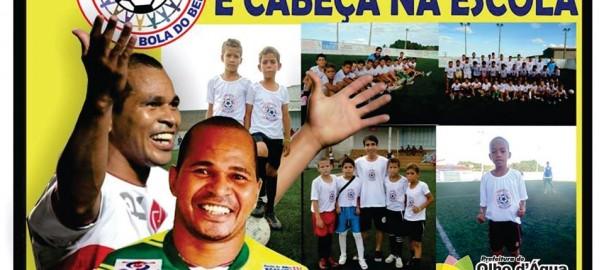 Aloísio Chulapa leva experiências para crianças e adolescentes em projeto social