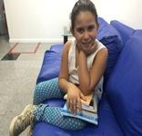 Criança de Mata Grande busca apoio para abrir biblioteca pública na cidade