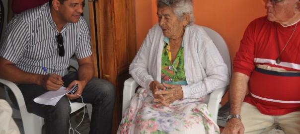 Dona São Pedro comemora os seus 90 anos com familiares e amigos e festeja os 120 anos da Malhada Grande