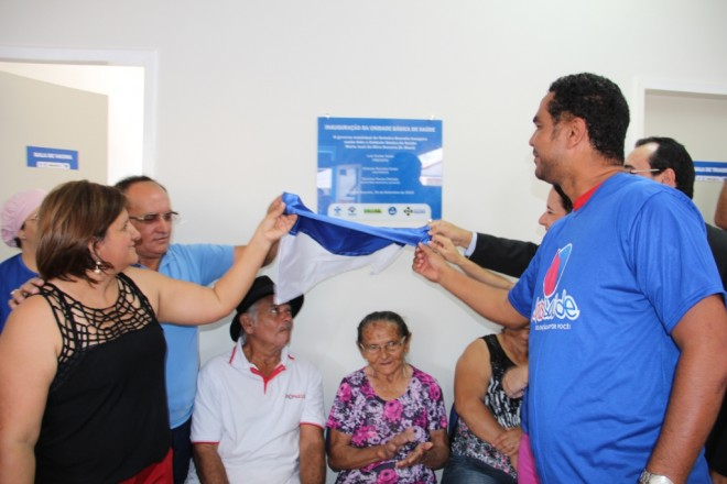 Governo Municipal de Delmiro inaugura nova Unidade Básica de Saúde