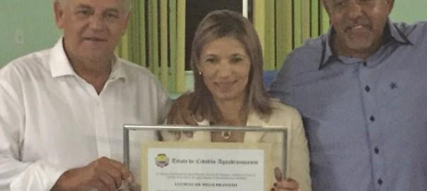 Carimbão participa de homenagem ao Monsenhor Rosevaldo e Missionária Luciene