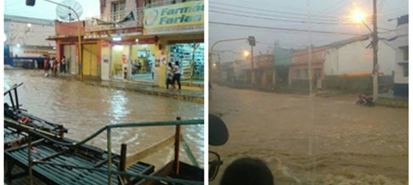 Sertanejos comemoram com a chegada da chuva em Delmiro, Água Branca e Mata Grande