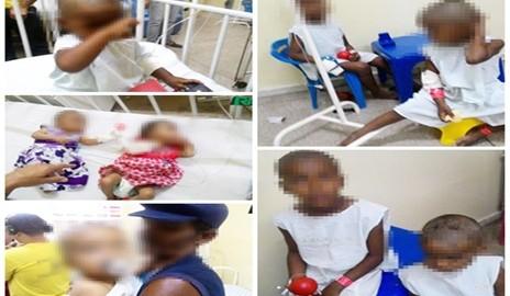 Crianças são abandonadas pela mãe e precisam de donativos; dentre elas estão duas gêmeas de 4 meses