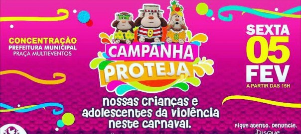 Desenvolvimento Social realiza Campanha 'PROTEJA' no Carnaval