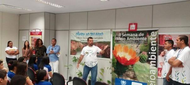 INEC, Banco do Nordeste e Secretaria de Meio Ambiente, realizam programação do Calendário Do Bem em Delmiro Gouveia/AL