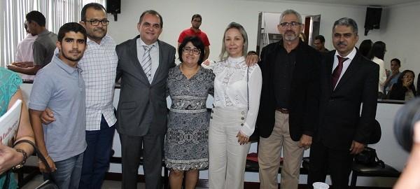 Jacira Carvalho e Maria Rosa são homenageadas com Títulos de Cidadã Delmirense