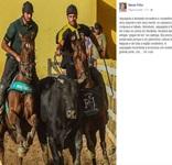 Governador chama vaqueiros de heróis ao defender a prática da vaquejada