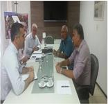 Prefeito Padre Eraldo busca parceria para o desenvolvimento econômico de Delmiro Gouveia
