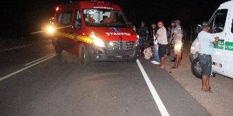 e339c58d9f269 Acidente envolvendo motocicleta e animal é registrado entre os municípios  de Água Branca e Delmiro Gouveia