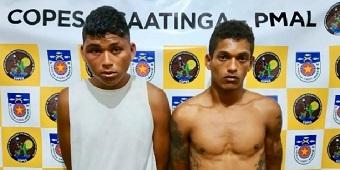 Dois homens são presos por tráfico de drogas no município de Inhapi