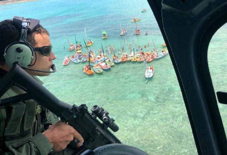 Atuação do Grupamento Aéreo reforça ações estratégicas da Segurança Pública em Alagoas