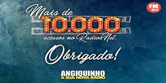 Pelo 9° mês consecutivo a Rádio Angiquinho é líder absoluta em audiência