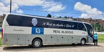 Real Alagoas muda cor da marca pela primeira vez para transportar CSA