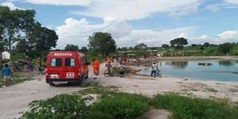 Vítima morre afogada após mergulho em açude no Sertão
