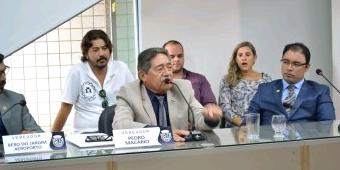 Presidente da Câmara manifesta solidariedade aos demitidos da TV São Francisco