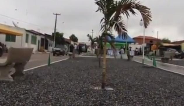 Distrito de Sinimbu recebe R$ 170 mil com a construção de uma praça e realização de festa