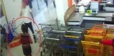 Paulo Afonso: mulher furta televisão e sai tranquilamente pela entrada principal da Suprave