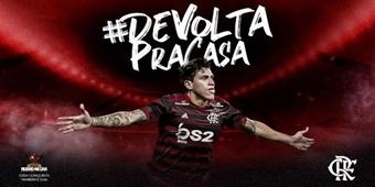 #DeVoltaParaCasa: quinto reforço, Pedro é anunciado pelo Flamengo
