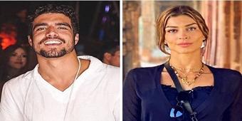 Caio Castro assume relacionamento sério com Grazi Massafera no Valetine's Day
