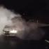 Veículo pega fogo e quatro pessoas ficam feridas em Alagoas