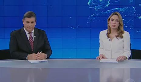 Jornal do SBT repercute as acusações contra ex-prefeita e atual secretária do Estado, Mellina Freitas